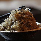 Косметика ручной работы. Ярмарка Мастеров - ручная работа Питательный Ванильный сахарный скраб для тела. Handmade.