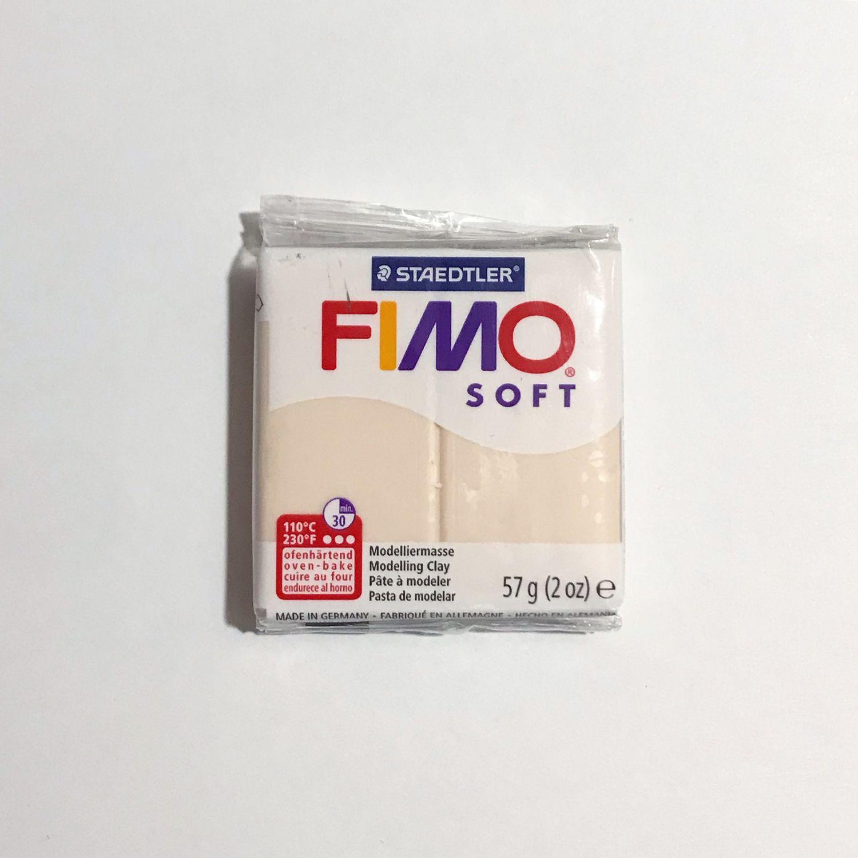 Полимерная глина Fimo Soft (телесный), Глина, Москва,  Фото №1