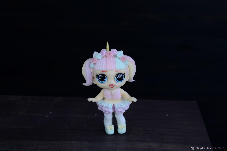 Кукла-лол из полимерной глины, Куклы, Москва, Фото №1