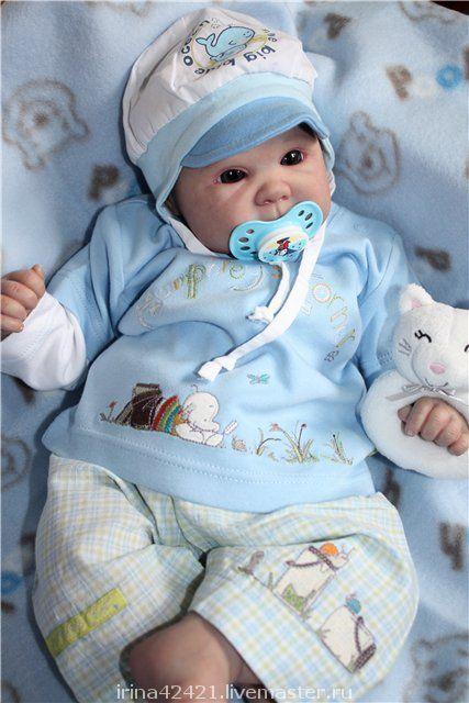 Куклы-младенцы и reborn ручной работы. Ярмарка Мастеров - ручная работа. Купить Кукла реборн Глебушка.. Handmade. Кукла реборн