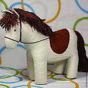 Куклы и игрушки ручной работы. Ярмарка Мастеров - ручная работа Лошадка из фетра. Handmade.