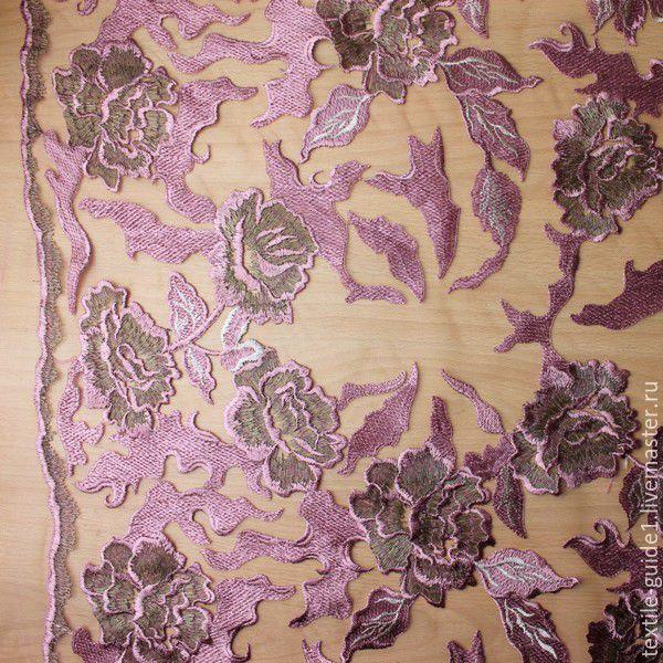 Вышивка на сетке на заказ