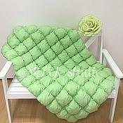 """Работы для детей, ручной работы. Ярмарка Мастеров - ручная работа Бомбон одеяло """"Зеленая свежесть"""". Handmade."""