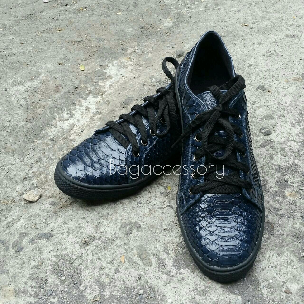 Handmade Shoes handmade. Livemaster - handmade. Buy Shoes made of genuine Python leather.Sneakers, sneakers handmade