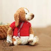 Куклы и игрушки ручной работы. Ярмарка Мастеров - ручная работа Щеночек Рочи. Handmade.
