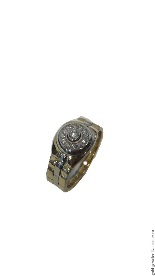 Мужской перстень из белого золота `Обаяние классики` Ювелирная мастерская PACHO.