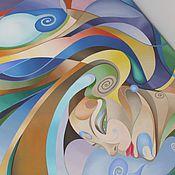 """Картины и панно ручной работы. Ярмарка Мастеров - ручная работа картина маслом 80х140 """"Карнавал"""". Handmade."""