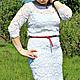 Платья ручной работы. Платье вязаное крючком. Вязание для Вас (Наталья Фисунова). Ярмарка Мастеров. Платье летнее, белое платье