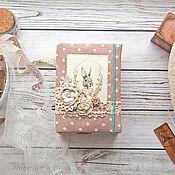 """Канцелярские товары ручной работы. Ярмарка Мастеров - ручная работа Блокнот """"Белый кролик"""". Handmade."""