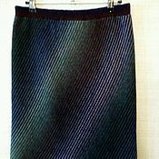 Одежда ручной работы. Ярмарка Мастеров - ручная работа Юбка Диагональ. Handmade.