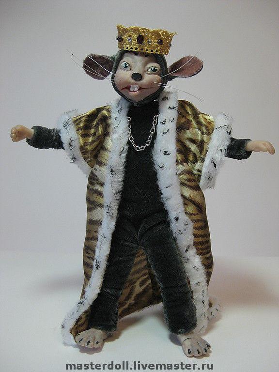 Кукла- игрушка Мышиный Король, Куклы и пупсы, Москва,  Фото №1