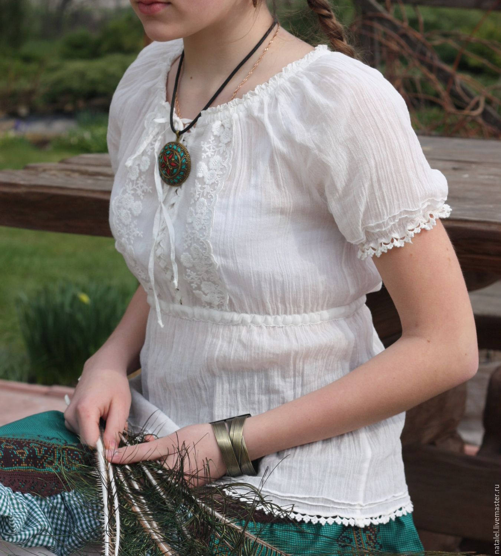 Блузка из марлевки купить