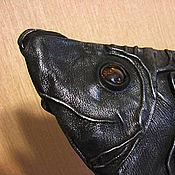 """Сумки и аксессуары ручной работы. Ярмарка Мастеров - ручная работа Клатч """"Черная рыба"""". Handmade."""
