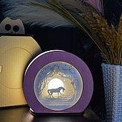 Для дома и интерьера handmade. Livemaster - original item Energy saving lamp