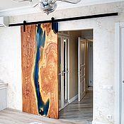 Для дома и интерьера handmade. Livemaster - original item Loft style barn door. Handmade.
