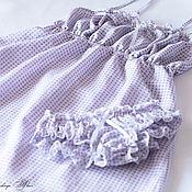 """Одежда ручной работы. Ярмарка Мастеров - ручная работа """"Доброе утро"""". Батистовое белье. Handmade."""