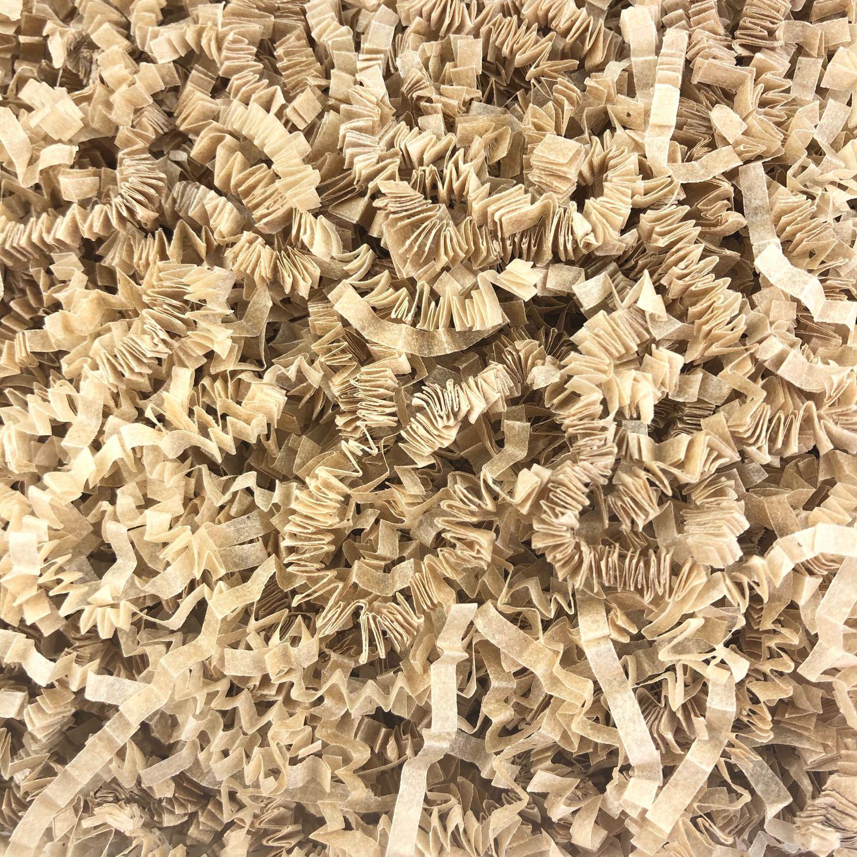 N269 100гр 3мм пергамент светло-коричневый, Наполнитель, Москва,  Фото №1