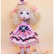Куклы и игрушки ручной работы. Ярмарка Мастеров - ручная работа авторская кукла ЭЛЛИ и ТОТОШКА. Handmade.