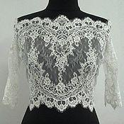 Одежда handmade. Livemaster - original item Lace top / bolero. Handmade.
