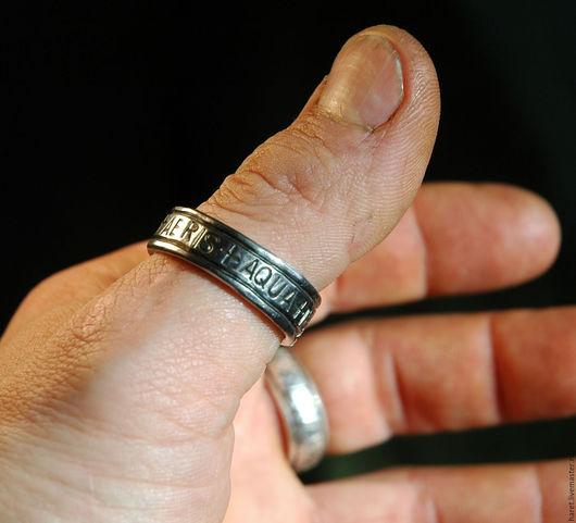 Обереги, талисманы, амулеты ручной работы. Ярмарка Мастеров - ручная работа. Купить кольцо Стихии Латинское. Handmade. Серебряный, волшебный