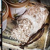 """Косметика ручной работы handmade. Livemaster - original item Соль для ванн """"Сладкая ваниль"""". Handmade."""