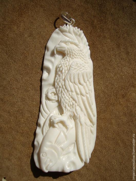"""Для украшений ручной работы. Ярмарка Мастеров - ручная работа. Купить Кулон-тотем """"Орел"""". Handmade. Кулон-тотем"""