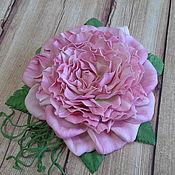 handmade. Livemaster - original item Brooch-hair clip rose. Handmade.