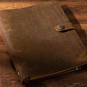 Канцелярские товары handmade. Livemaster - original item diaries: Cover for notebook, sketchbook A5. Handmade.