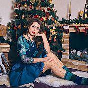 """Одежда ручной работы. Ярмарка Мастеров - ручная работа Комплект  """"Немного моря в новый год"""". Handmade."""