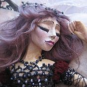 """Куклы и игрушки ручной работы. Ярмарка Мастеров - ручная работа интерьерная кукла """" Во власти сна"""". Handmade."""