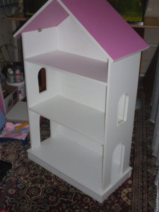 Кукольный дом ручной работы. Ярмарка Мастеров - ручная работа. Купить кукольный дом. Handmade. Фуксия, ЛДСП