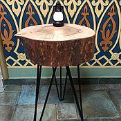 Столы ручной работы. Ярмарка Мастеров - ручная работа Консоль из лиственницы в марокканском стиле. Handmade.