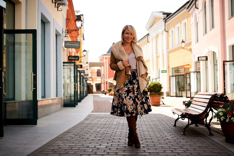Jacquard skirt 'Terracotta flowers', Skirts, Moscow,  Фото №1