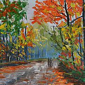 """Картины и панно ручной работы. Ярмарка Мастеров - ручная работа Картина """"Осень"""". Handmade."""