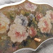 Для дома и интерьера ручной работы. Ярмарка Мастеров - ручная работа Вешалка Цветы. Handmade.