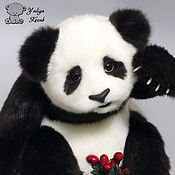 Куклы и игрушки ручной работы. Ярмарка Мастеров - ручная работа Панда. Handmade.