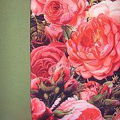 Материалы для творчества ручной работы. Ярмарка Мастеров - ручная работа Кулирка с лайкрой Розы бордо. Handmade.