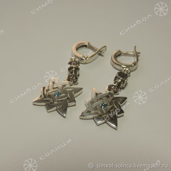 earrings Star of Russia, Folk decorations, Sochi,  Фото №1