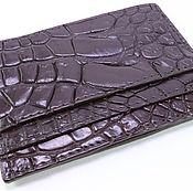 Сумки и аксессуары handmade. Livemaster - original item Cardholders crocodile IMA0135K5. Handmade.