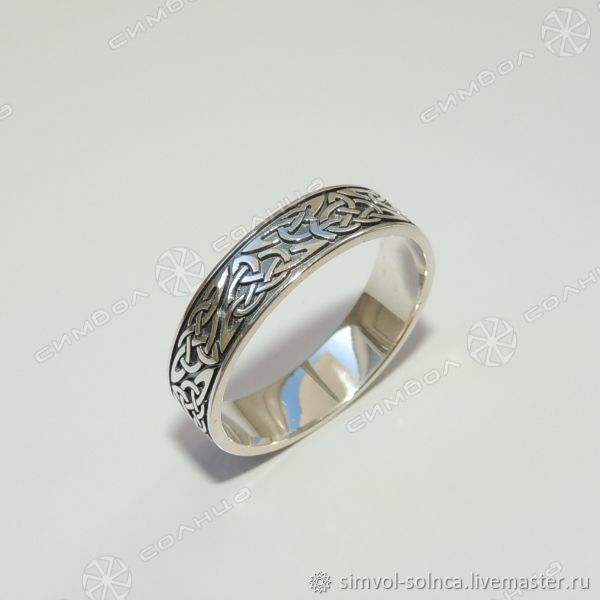 Celtic Knot Ring, Triquetre, Folk decorations, Sochi,  Фото №1