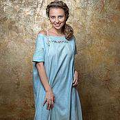 Одежда ручной работы. Ярмарка Мастеров - ручная работа платье Русалка смешанное валяние. Handmade.
