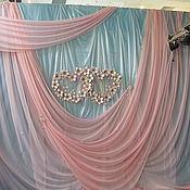 Свадебный салон ручной работы. Ярмарка Мастеров - ручная работа свадебный декор тканью. Handmade.