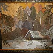 Картины и панно ручной работы. Ярмарка Мастеров - ручная работа На закате. Handmade.