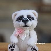 Куклы и игрушки handmade. Livemaster - original item Author`s felted Teddy bear bear. Handmade.