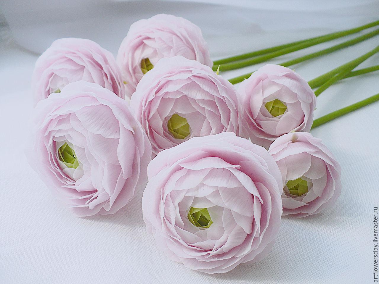 Цветы букеты ранункулюсы цена
