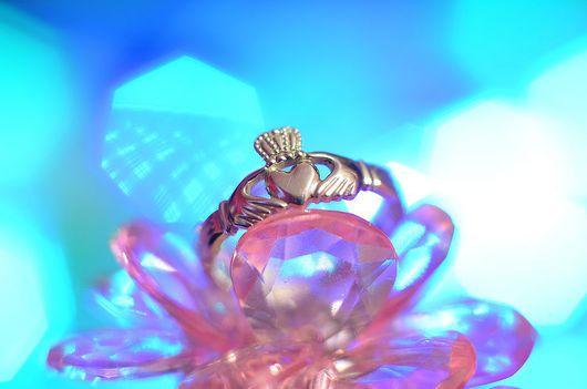 Кольца ручной работы. Ярмарка Мастеров - ручная работа. Купить Кольцо Кладдах. Handmade. Кладдах, Кладдахское кольцо, Ирландское кольцо