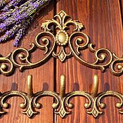 Для дома и интерьера handmade. Livemaster - original item Hooks for Your home, cottages.( Iron).Europe.. Handmade.