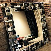Для дома и интерьера ручной работы. Ярмарка Мастеров - ручная работа Зеркало в стиле лофт. Handmade.
