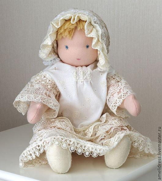 Вальдорфская игрушка ручной работы. Ярмарка Мастеров - ручная работа. Купить Вальдорфская кукла Даша. Handmade. Кукла ручной работы