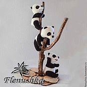Куклы и игрушки ручной работы. Ярмарка Мастеров - ручная работа Пандо-Банда (Пандочки: Пим, Тим и Ким). Handmade.